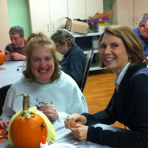 womans-board-pumpkin-carving